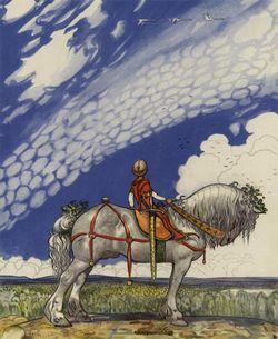 Ilustración de John Bauer