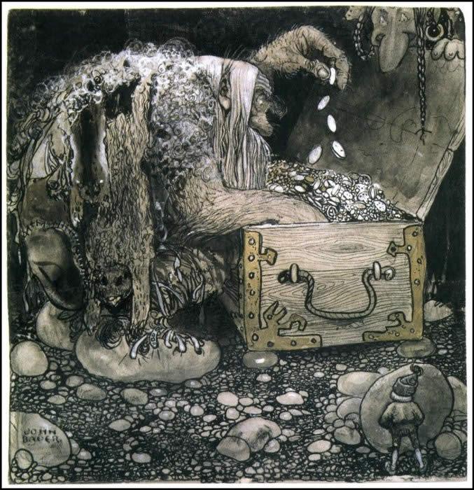 ilustración: John Bauer