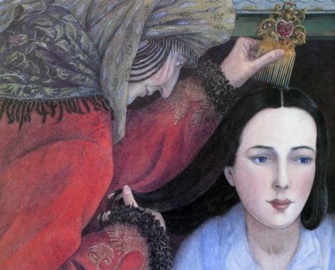 Ilustración de Angela Barret