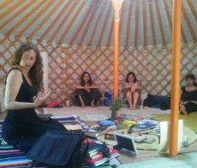 En taller. Foto de  María Pujol