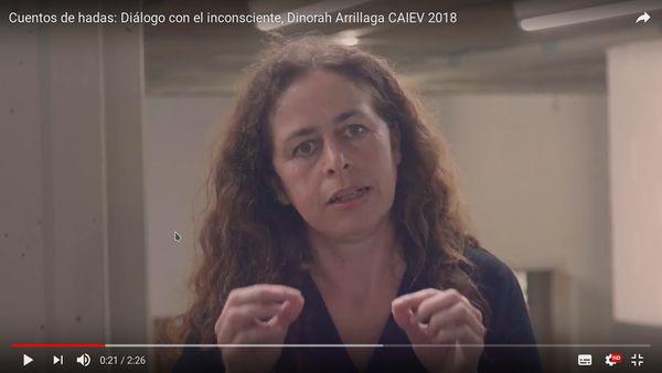 Cuentos de hadas: Diálogo con el inconsciente, Dinorah Arrillaga CAIEV 2018